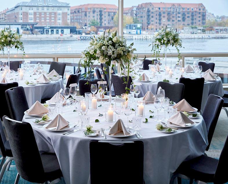 Bryllup på Copenhagen Marriott